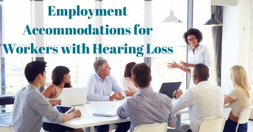 employment accommodations for workers with hearing loss